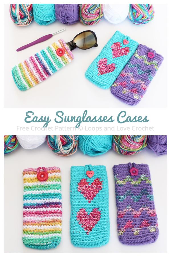 Easy Sunglasses Cases Free Crochet Patterns