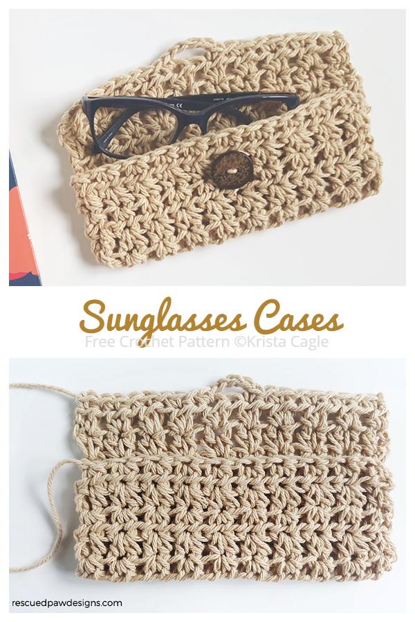 Sunglasses Cases Free Crochet Patterns