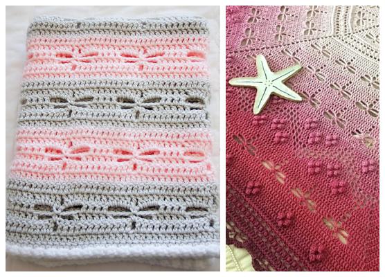 Dragonfly Blanket Free Crochet Patterns