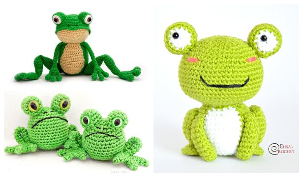 Crochet Toy Frog Amigurumi Free Patterns & Paid