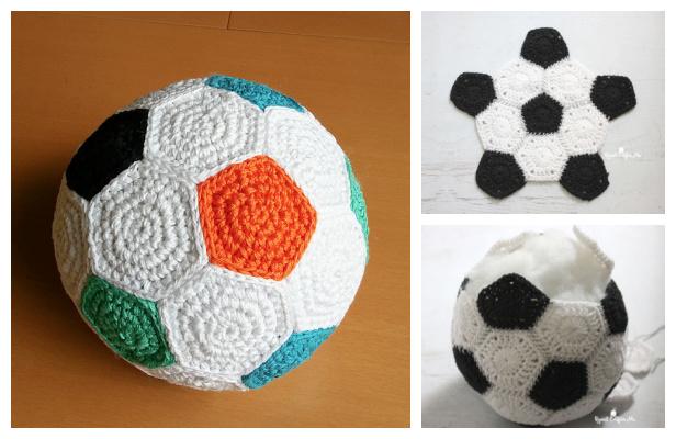 Crochet Soccer Ball Crochet Pattern