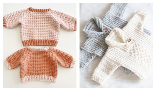 Baby Sweater Pullover Free Crochet Patterns f5