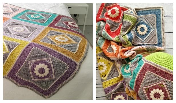 Charlotte's Dream Blanket Free Crochet Patterns