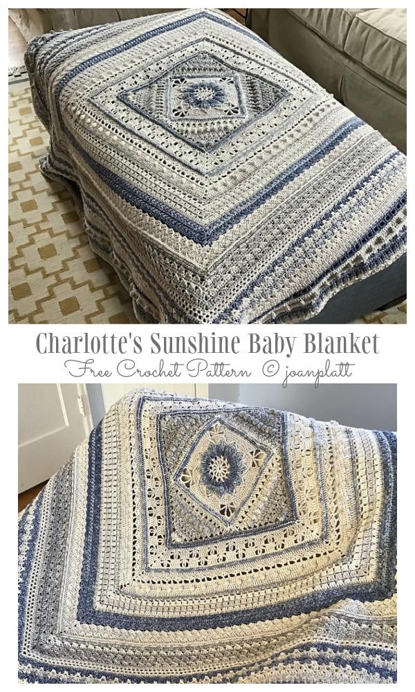 Snowflake Afghan Blanket Free Crochet Patterns