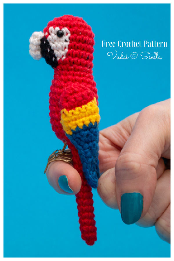 Crochet Parrot Amigurumi Free Patterns + Video
