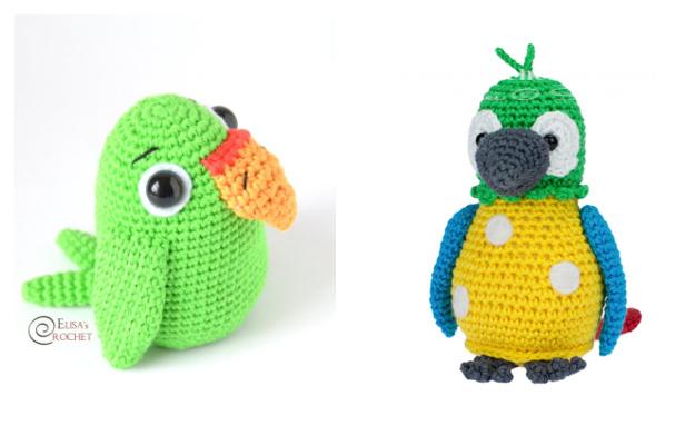 Crochet Parrot Amigurumi Free Patterns