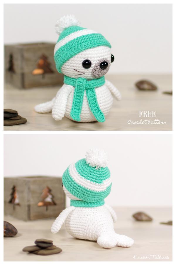 Crochet Sammy the Seal Amigurumi Free Patterns