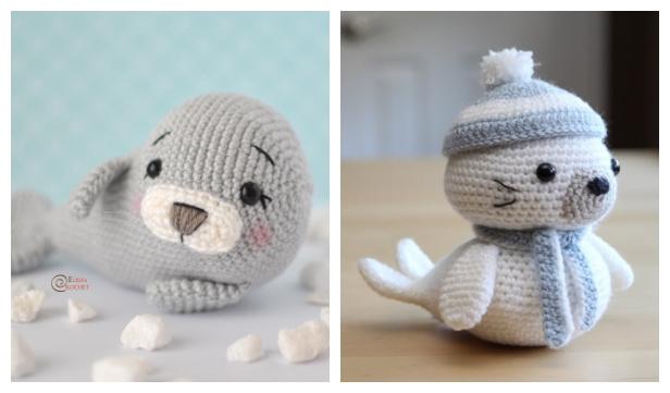 Crochet Seal Amigurumi Free Patterns