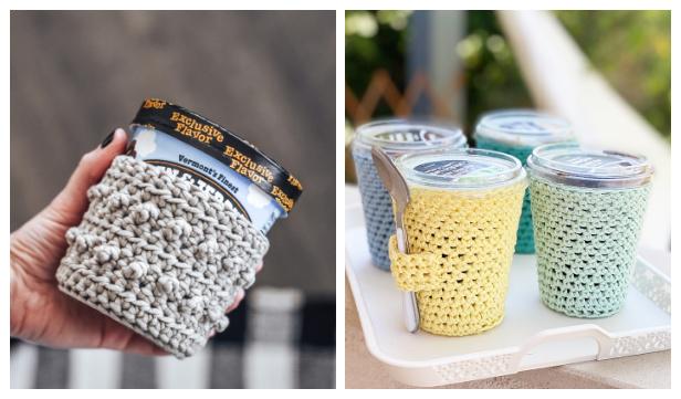 Ice Cream Cozy Free Crochet Patterns