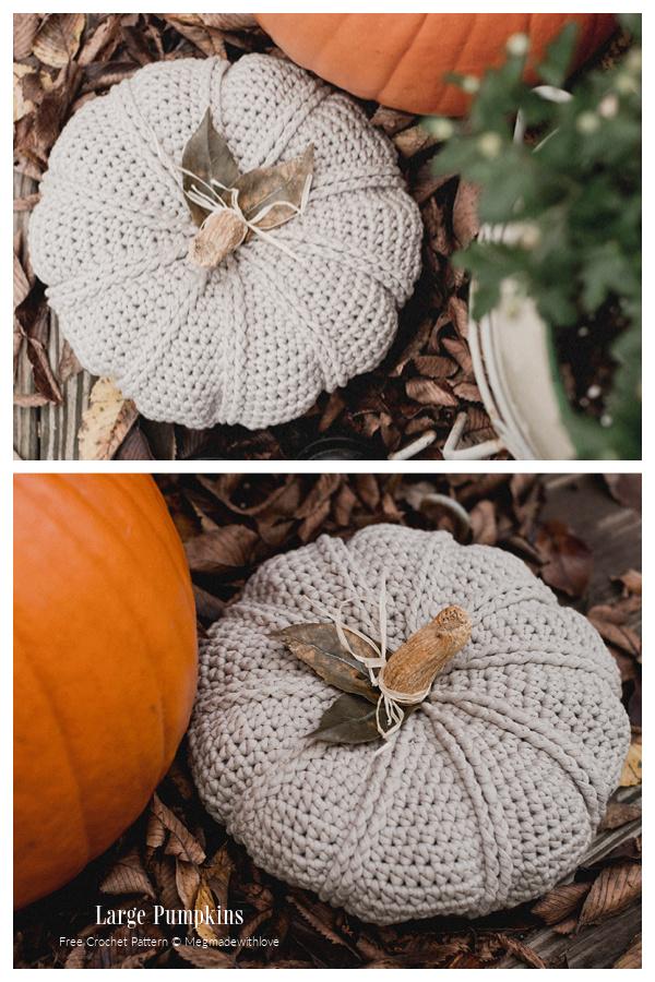 Little Rustic Pumpkin Free Crochet Patterns