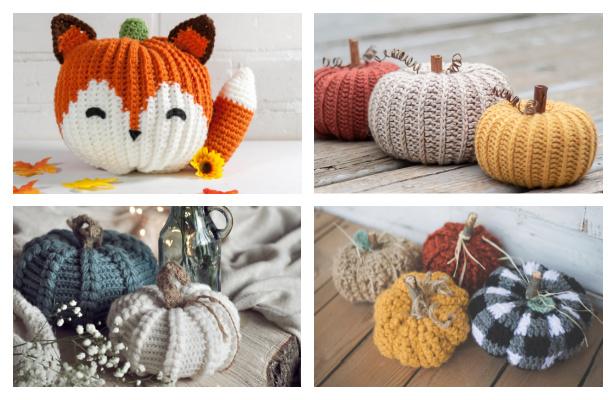 Amigurumi Pumpkin Free Crochet Patterns & Paid