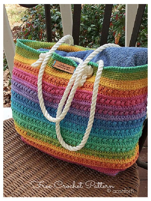 Malia Shoulder Bag Free Crochet Patterns