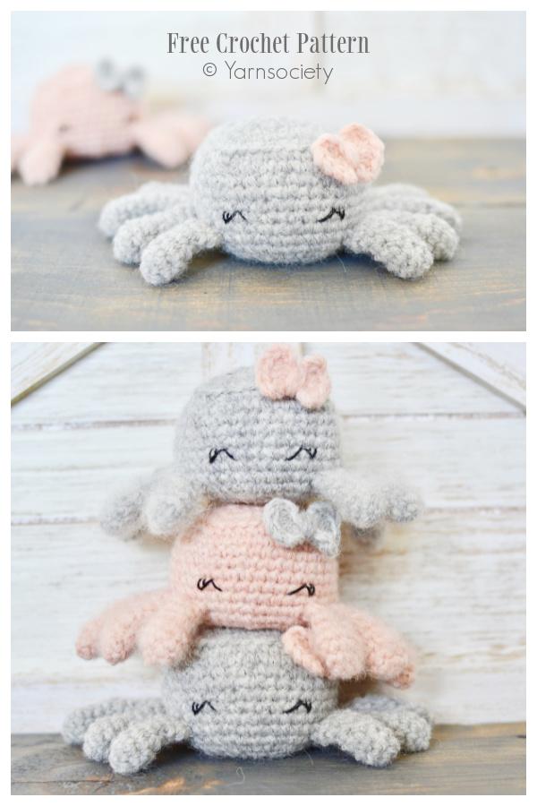 Crochet Stuart the Spider Amigurumi Free Patterns