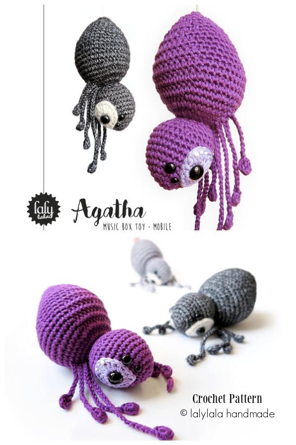 Crochet Spider Agatja Amigurumi Patterns