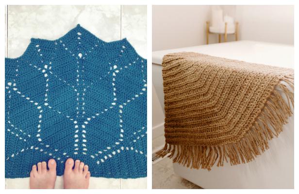 Half Circle Rug Free Crochet Patterns