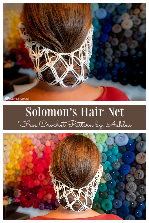 Solomon's Hair Net Free Crochet Patterns