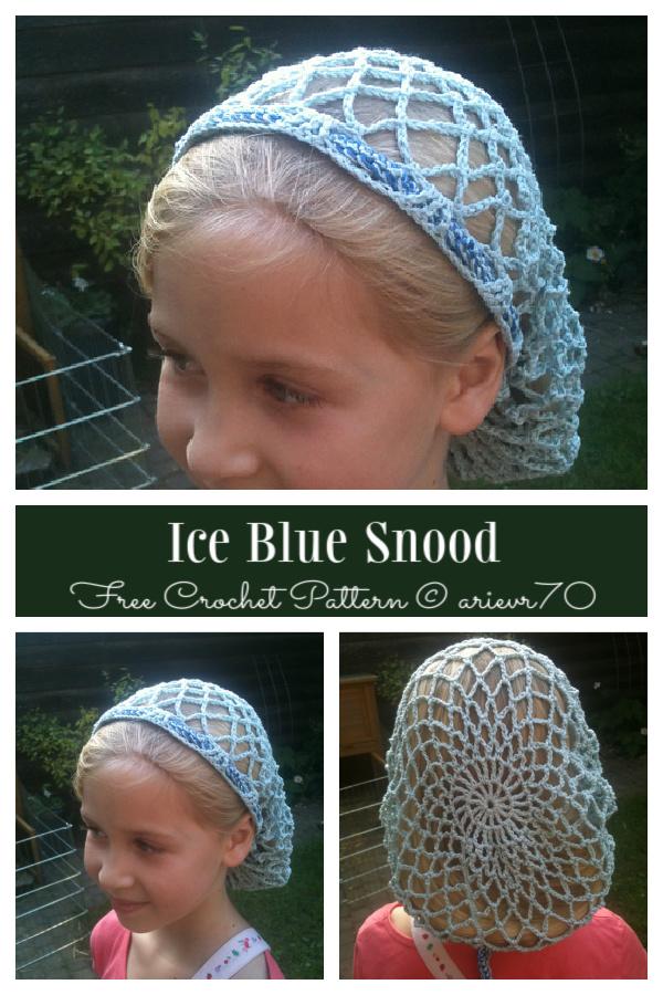 Snood Hair Net Free Crochet Patterns