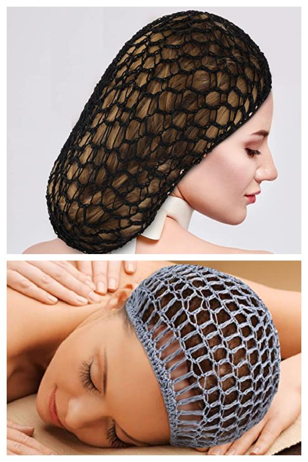 Snood Hair Net Crochet Patterns