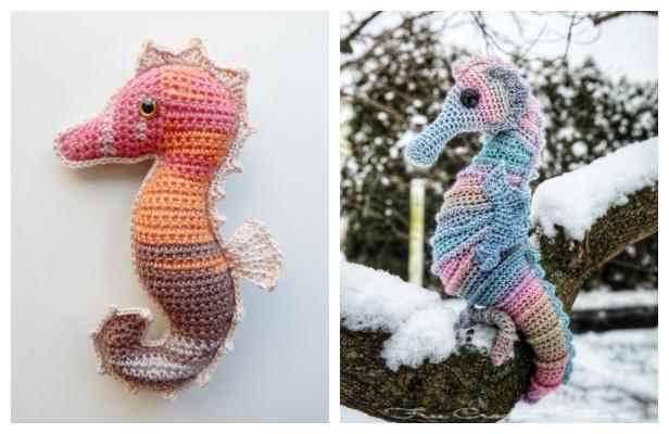 Amigurumi Seahorse Free Crochet Patterns