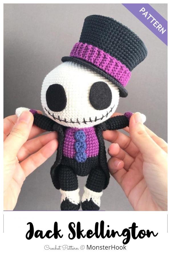 Crochet Jack Skeleton Amigurumi Patterns