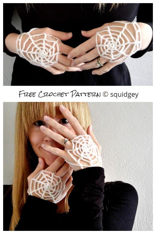 Halloween Handy Spider Web Free Crochet Patterns