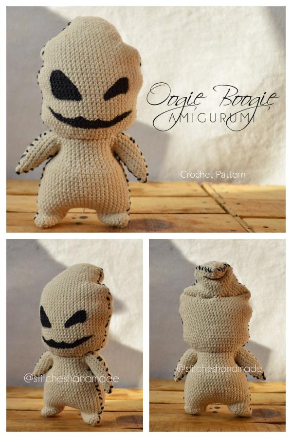 Amigurumi Oogie Boogie Crochet Patterns