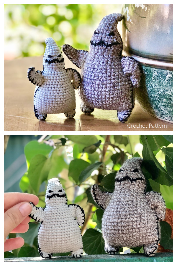 Amigurumi Oogie Boogie Free Crochet Patterns