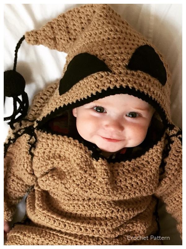 Oogie Boogie Baby Costume Crochet Patterns