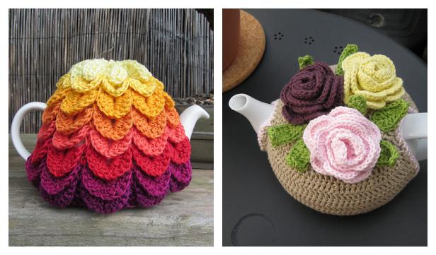 Teapot Cozy Free Crochet Patterns