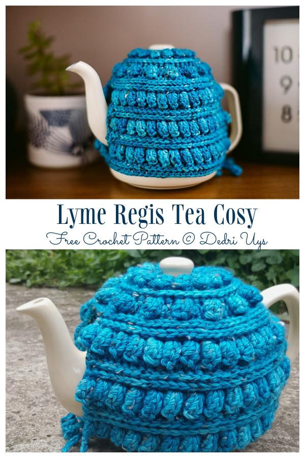 Lyme Regis Tea Cosy Free Crochet Patterns