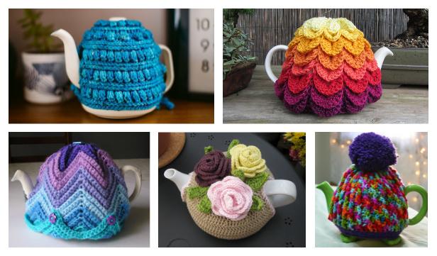 Granny Tea Cozy Free Crochet Patterns
