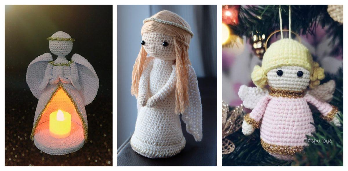 10 Crochet Angel Doll Amigurumi Free Patterns