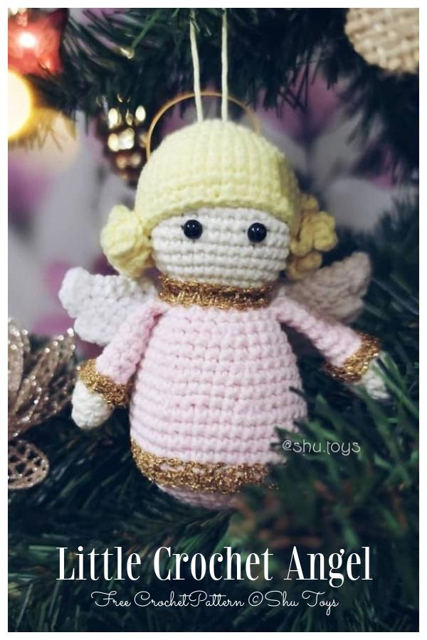 Crochet Little Angel Doll Ornament Amigurumi Free Patterns