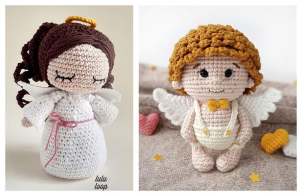 Crochet Mini Angel Doll Amigurumi Free Patterns