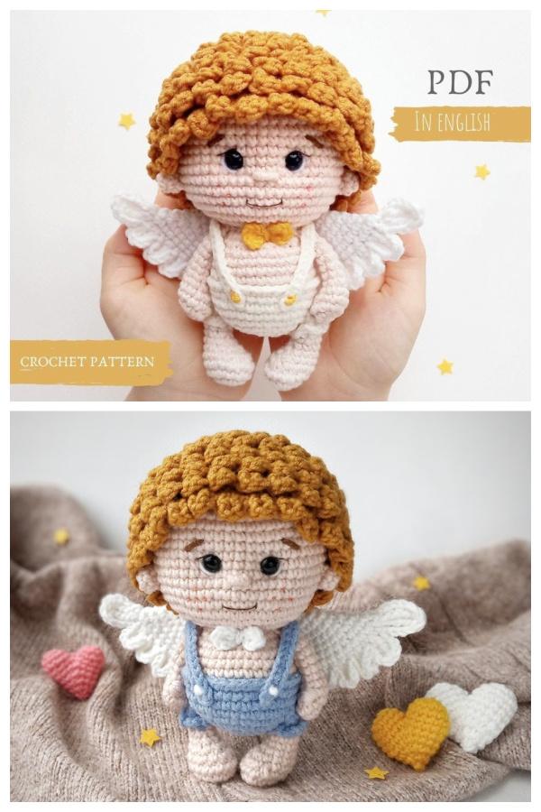 Crochet Angel Doll Amigurumi Patterns