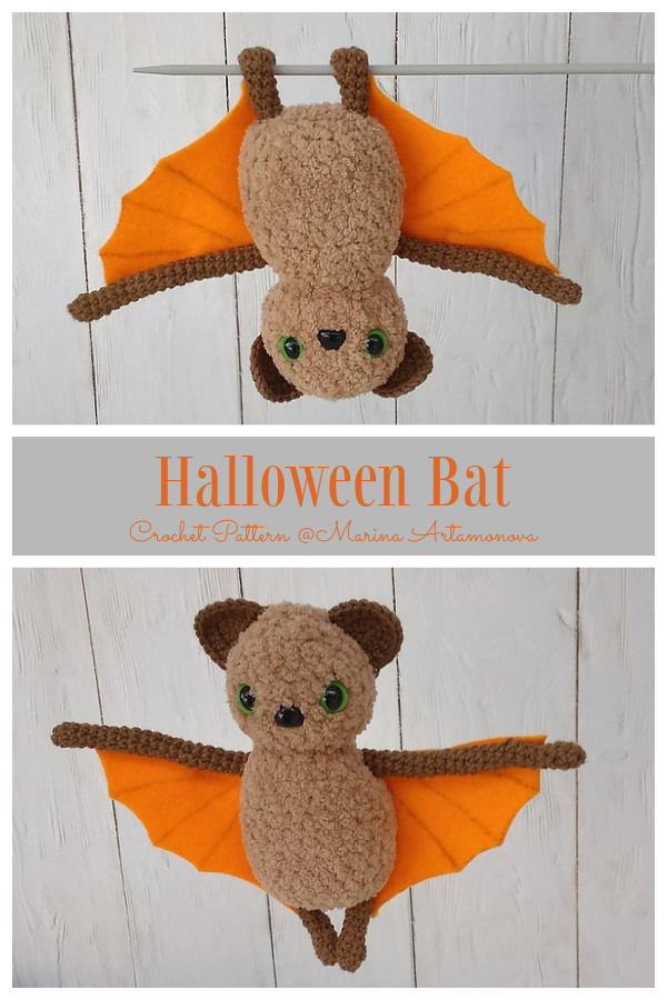 Halloween Crochet Bat Amigurumi Patterns