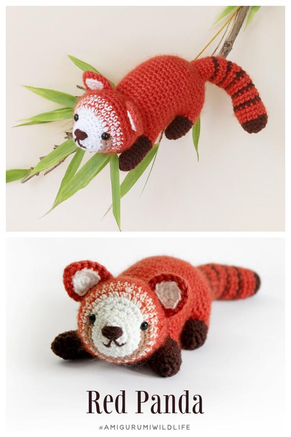 Crochet Wildlife Adventure Red Panda Amigurumi Patterns