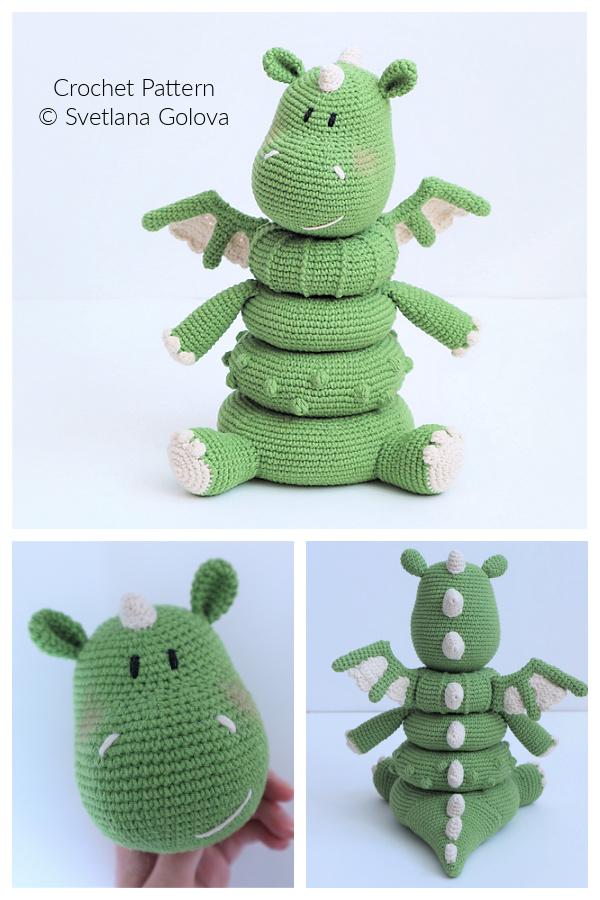 Fun Baby Stacking Toys Crochet Patterns