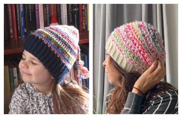 Scrap Yarn Hat Free Crochet Patterns